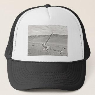 BW Seagull Flying Wings Spread SandBar Trucker Hat