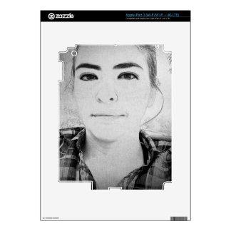 BW Selfie iPad 3 Skins