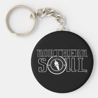 Bw septentrional de la llama del alma llaveros