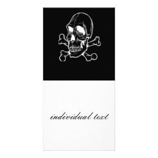 BW Skull 315 Photo Card