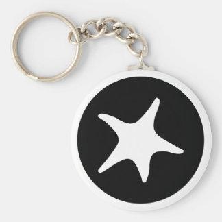 BW Starfish Key Chains