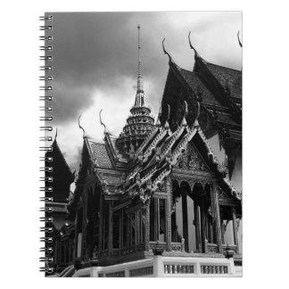 BW Tailandia Bangkok el grupo 1970 de Dusit Libreta