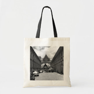 BW Thailand Bangkok Royal palace 1970 Tote Bag