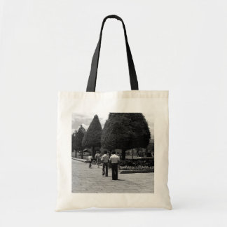 BW Thailand Bangkok royal palace Entrance Tourists Tote Bag