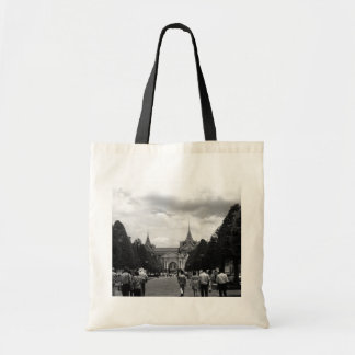 BW Thailand Bangkok Tourist royal palace entrance Tote Bag