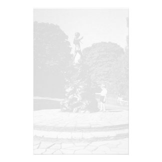 BW UK England London Peter Pan statue Kensigton Personalized Stationery