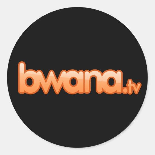 Bwana.TV Sticker