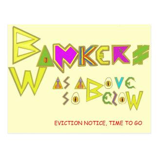 Bwankers Postcard