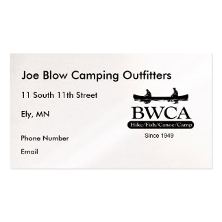BWCA BUSINESS CARD