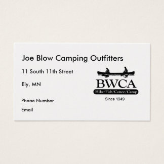 BWCA BUSINESS CARD