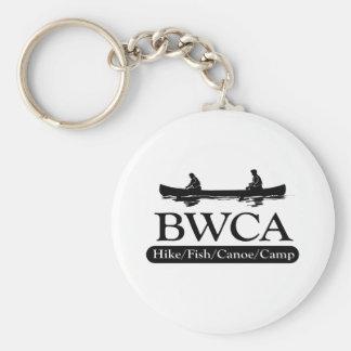 BWCA/campo de la canoa de los pescados del alza Llavero Redondo Tipo Pin
