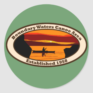 BWCA Emblem Classic Round Sticker