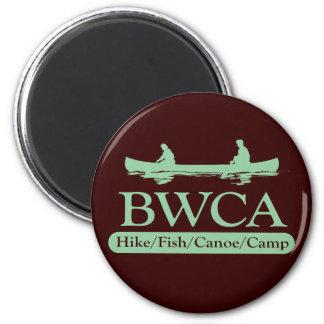 BWCA / Hike Fish Canoe Camp 2 Inch Round Magnet