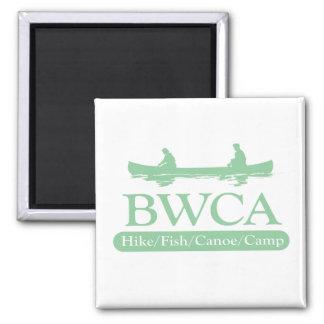 BWCA / Hike Fish Canoe Camp 2 Inch Square Magnet