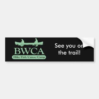 BWCA / Hike Fish Canoe Camp Car Bumper Sticker