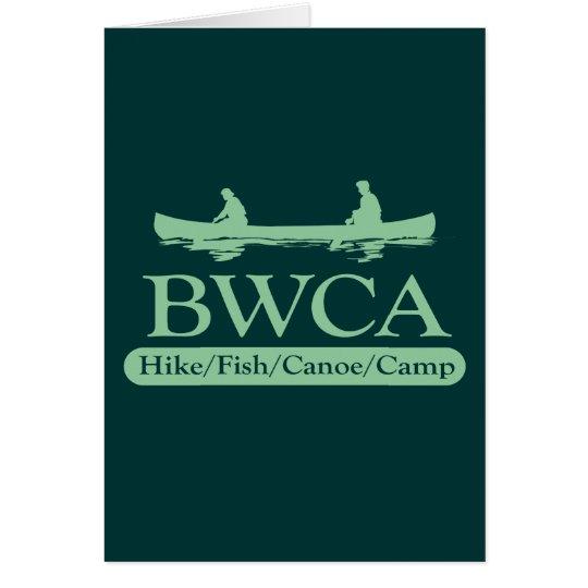 BWCA / Hike Fish Canoe Camp Card