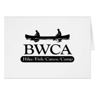 BWCA / Hike Fish Canoe Camp Greeting Card