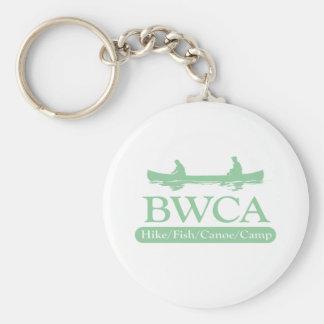 BWCA / Hike Fish Canoe Camp Basic Round Button Keychain