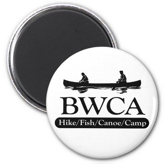 BWCA / Hike Fish Canoe Camp Magnet