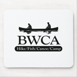 BWCA / Hike Fish Canoe Camp Mouse Pad