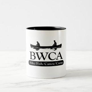 BWCA / Hike Fish Canoe Camp Two-Tone Coffee Mug