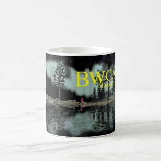 BWCA under the Northern lights Coffee Mug