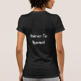 BWD para mujer Ebrace la camiseta del movimiento