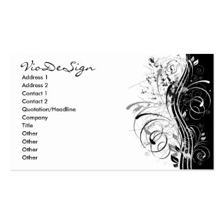 BWgrunge Double-Sided Standard Business Cards (Pack Of 100)