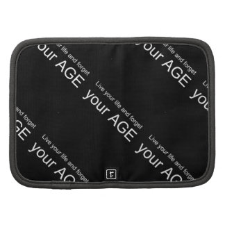 BWQ LIVE YOUR LIFE FORGET YOUR AGE ADVICE WISDOM Q PLANNER