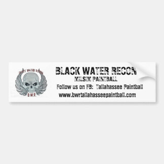 BWR Paintball Bumper Sticker