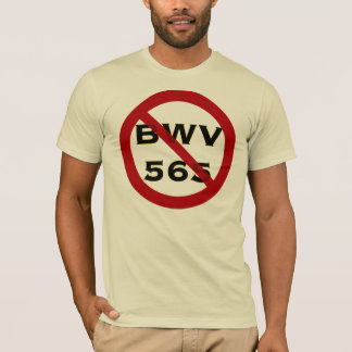 BWV565 forbidden t-shirt