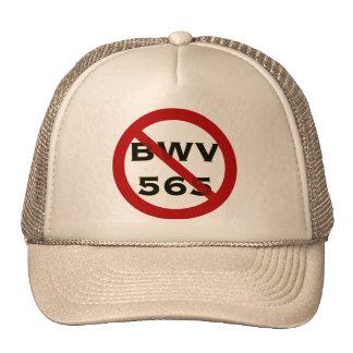 BWV 565 forbidden hat