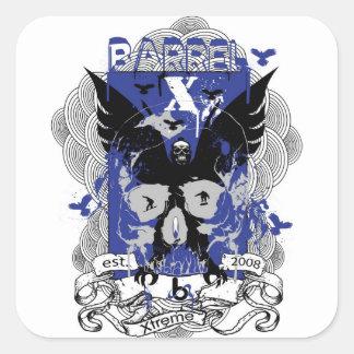 bX Barrel X Limited Established 2008 Square Sticker