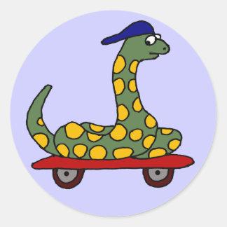 BX- Funny Boa Skateboarding Stickers