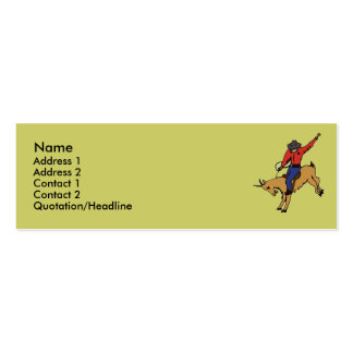 BX- Goat Rodeo Business Cards