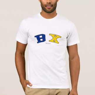 BX in New York state flag colors T-Shirt