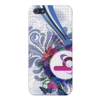 bX Retro Butterfly Design iPhone 5 Case
