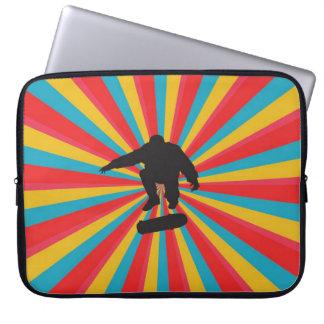 bX Skateboard Laptop Sleeve