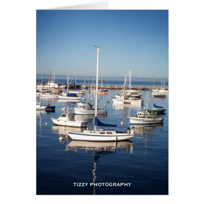 By a dock in the bay, TIZZY PHOTOGRAPHY Card