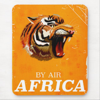 By Air Africa travel poster Mouse Pad