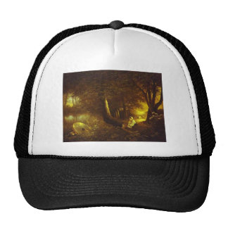 By an Old Mill by Maxim Vorobiev Trucker Hat