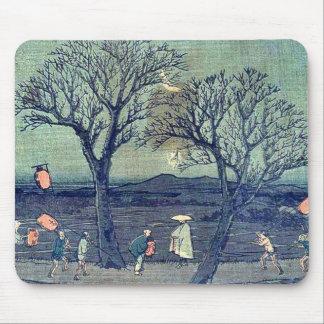 by Ando, Hiroshige Ukiyo-e. Mouse Pads