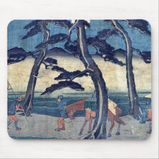 by Ando, Hiroshige Ukiyo-e. Mousepads