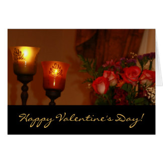 By Candlelight Greeting Card