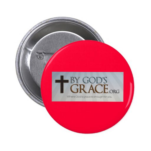 By God's Grace Collection Buttons