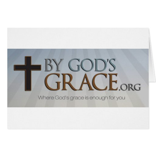 By God's Grace Collection Card