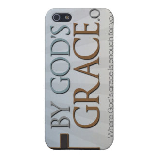 By God's Grace Collection Cases For iPhone 5