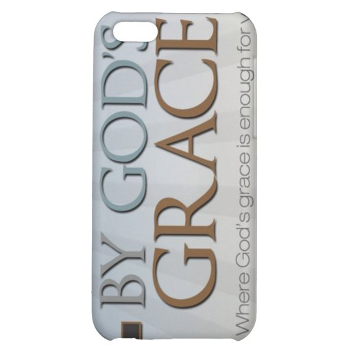 By God's Grace Collection iPhone 5C Cases