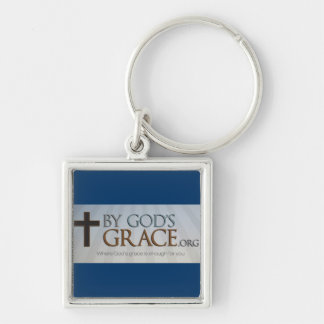 By God's Grace Collection Keychain