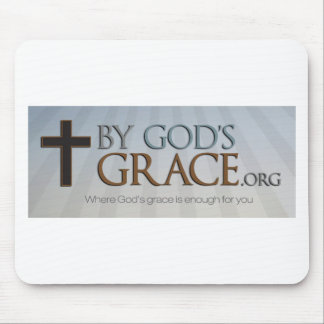 By God's Grace Collection Mouse Pad